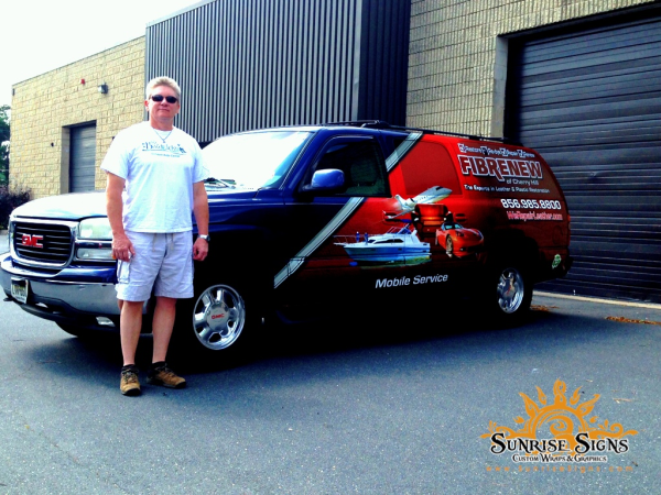 GMC Yukon Partial vehicle wraps NJ