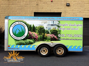 Landscaper Cargo Trailer Wraps NJ