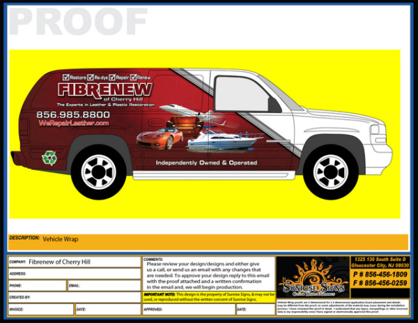 Partial Vehicle Wraps for Franchises