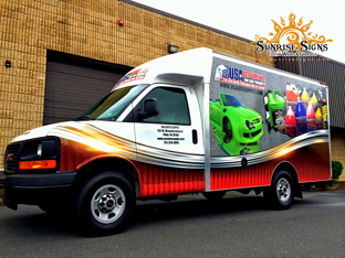 Spartan van graphics Philadelphia