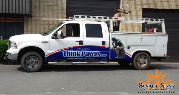 Quad Cab Truck Wraps Sunrise Signs NJ