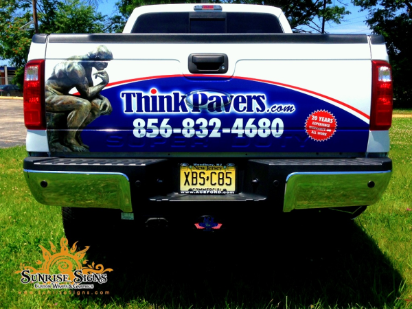 Partial vehicle wraps Sunrise Signs