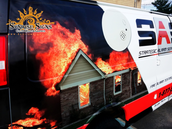 Contractor van wraps Atlantic City NJ