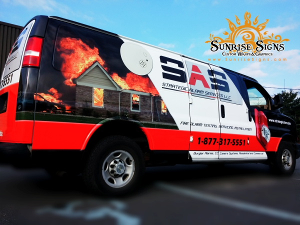 Contractor van graphics New Jersey