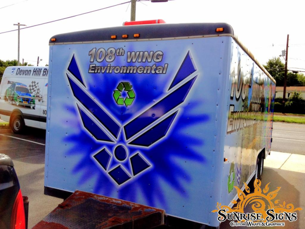 Military and Government Trailer Wraps