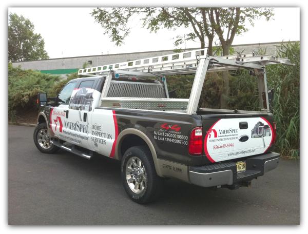 Truck wrap project spotlight amerispec home inspection for Deptford motor vehicle inspection