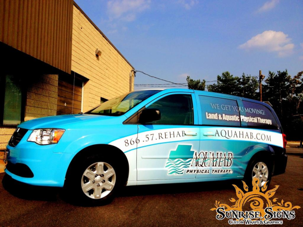 Nationwide Fitness Center van wraps