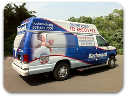 Bacharach Rehabilitation Institute Vehicle Wraps