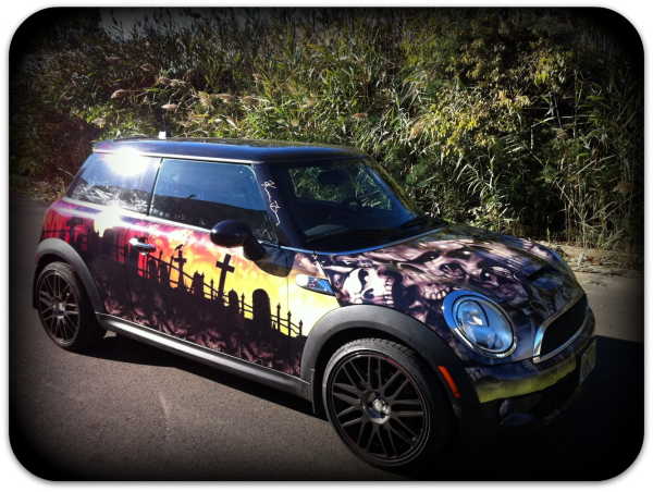 Personalized vehicle wrap