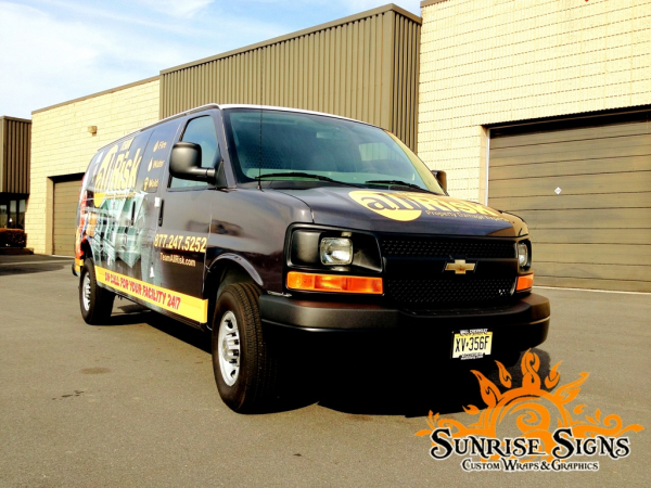 Affordable contractor van wraps