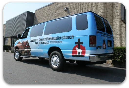church van wrap 2