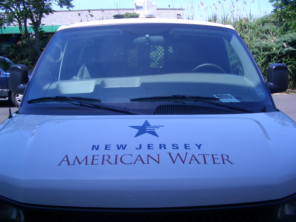 New Jersey American Water Van Wraps