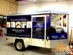 Mid-State Lumber Enclosed Trailer Wraps