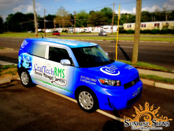 Nationwide fleet vehicle wraps and graphics