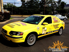 Curamin Product Distributor Volvo S60 car wraps