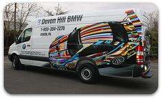 Devon Hill BMW Van Wraps
