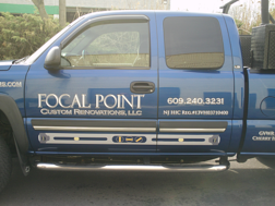 Electrical contractor advertising with vehicle wraps
