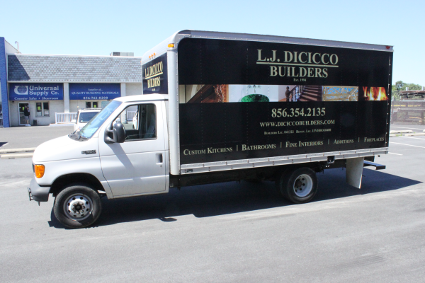Design Build Contractor Box Truck Wrap