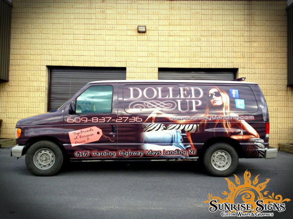 Ford E150 Van Wraps Advertising
