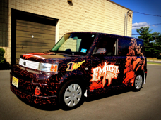 Empire Tattoo Scion xB Vehicle Wraps in NJ