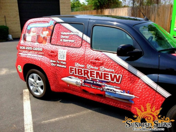 Chevrolet HHR vehicle wraps