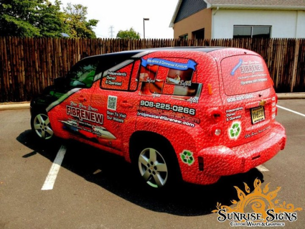Vehicle wraps are 24/7 moving billboard advertisements