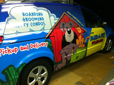 My Park A Pet Nissan Quest Van Wraps