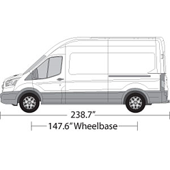 Vehicle Wrap Templates For Ford Transit Van