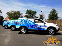 Advertise with vehicle wraps for franchises