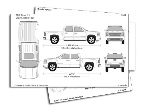 free vehicle wrap templates