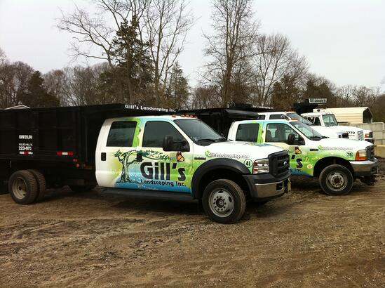 landscaping truck wraps