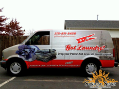 Got Laundry Chevy Astro Van Wraps