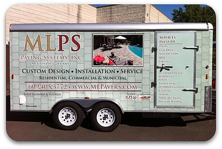 hardscaping trailer wrap