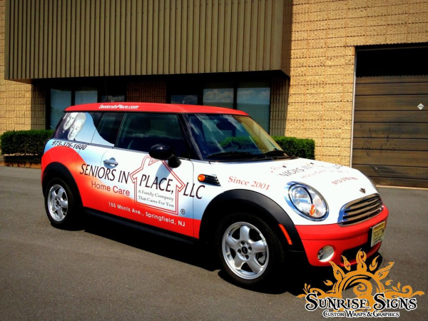 Union County and New Jersey car wraps advertising