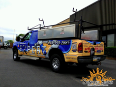 Home Contractor Ford F250 Truck Wraps