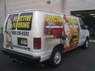 Ford E150/250/350 Van Wraps: Commercial Vehicle Graphics for