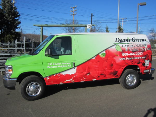 Holiday vehicle wraps and graphics