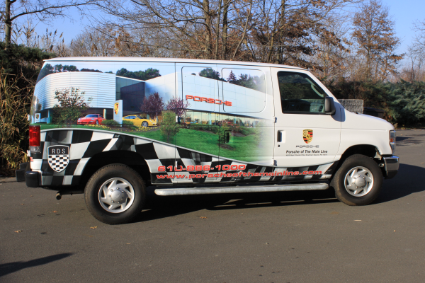 Nationwide vehicle wraps advertising