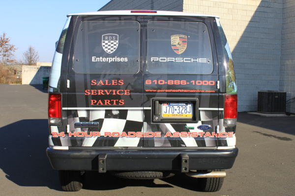 Get noticed with auto dealership vehicle wraps