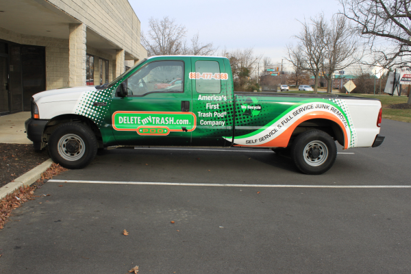 Emerald Green Vehicle Wraps