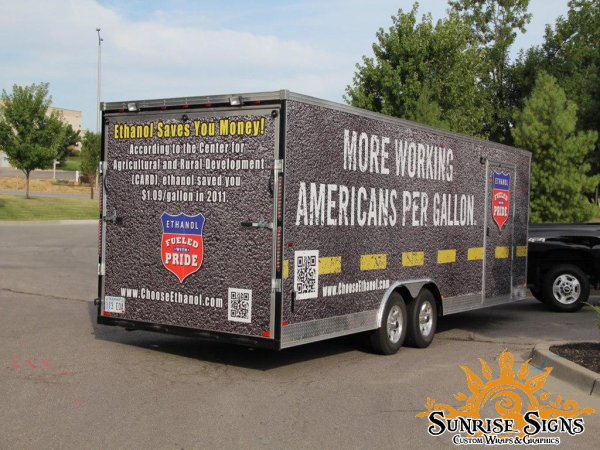 Nationwide trailer wraps