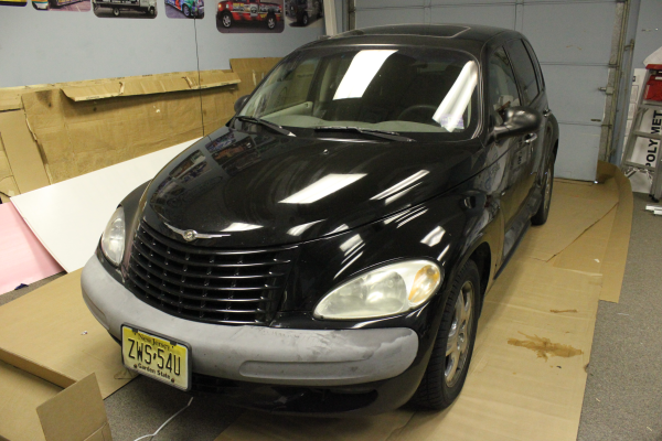 PT Cruiser Before Car Wraps