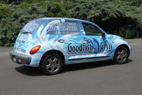 Restaurant Deliver car wraps