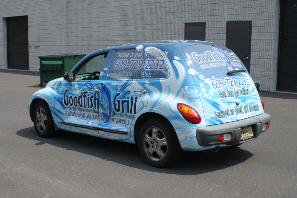 Advertise with affordable car wraps