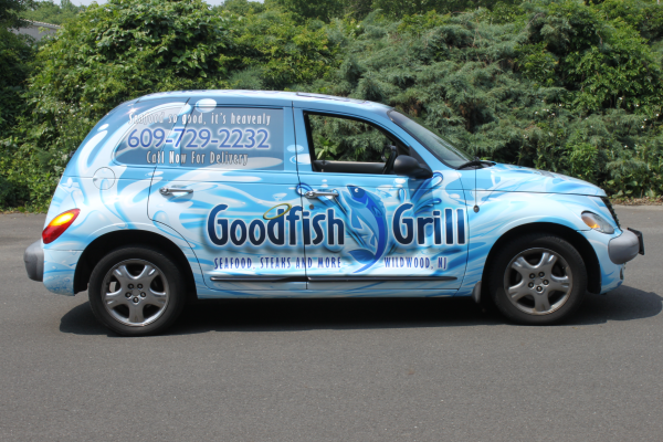 Wildwood New Jersey car wraps