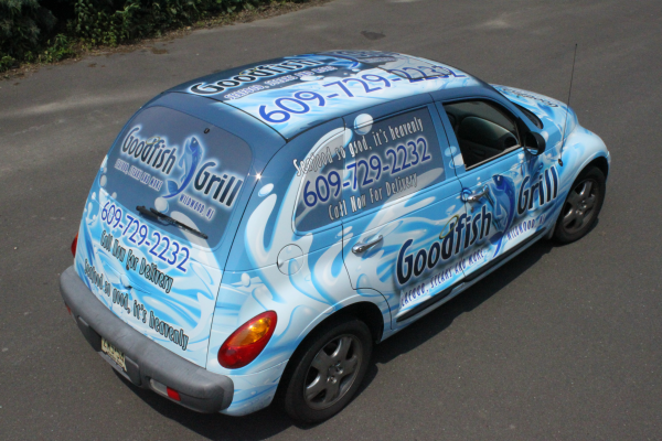 Cape May County car wraps