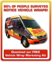 vehicle wrap marketing kit
