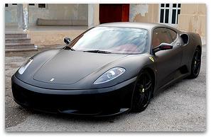 Stylish Hot Trendy Matte Black Car Wraps
