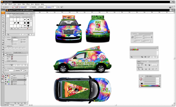vehicle wrap measurements