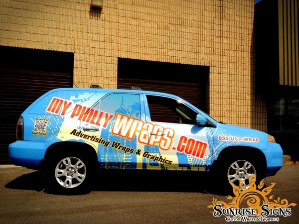 Myphillywraps.com vehicle wraps
